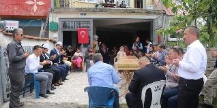 15 Temmuz Şehidimiz Mustafa YAMAN, Çubuklu Köyü Camisinde okunan Mevlid-i Şerif'in ardından Vali GÜNER ve İl Protokolü tarafından kabri başında dualarla anıldı.