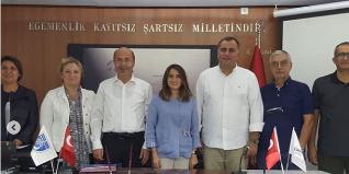 Amasra Belediye Başkanı Recai Çakır ile Çankaya Belediye Başkanı Alper Taşdelen Kardeş Kent Protokolünü İmzaladı.